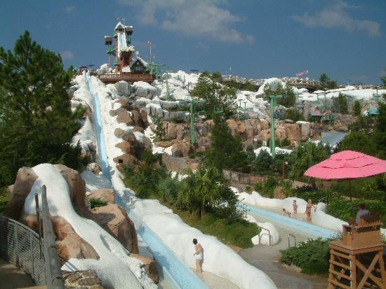 Disney S Blizzard Beach Water Park Slide Heaven