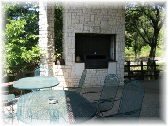 The Lodge at Fossil Rim: Entertaining area