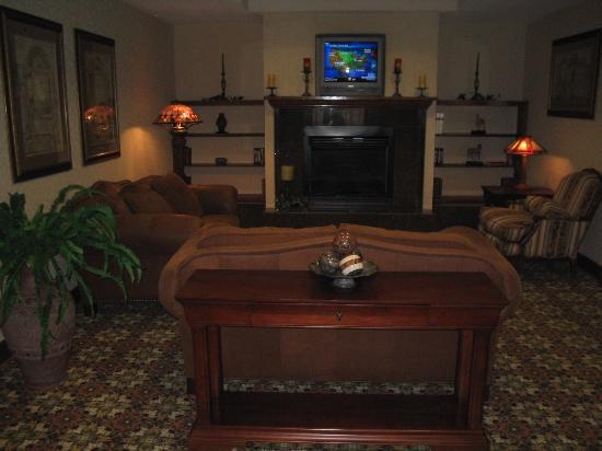 Hampton Inn Bartlesville: Sitting Area