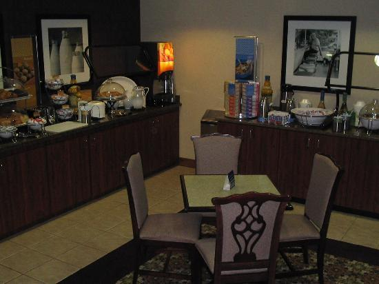 Hampton Inn Bartlesville: Breakfast Area