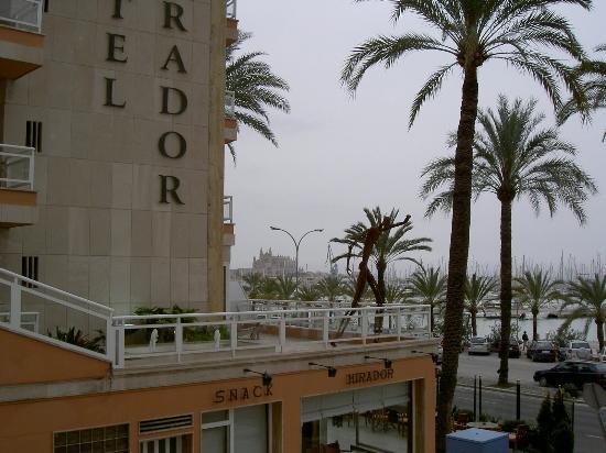 View from room 402 fotograf a de hotel mirador palma de - Fotografia palma de mallorca ...