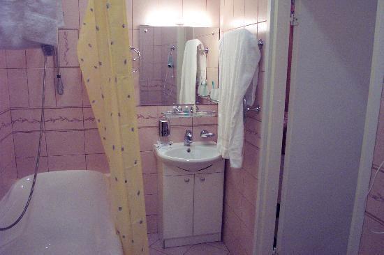 Comfort Hotel : the bathroom