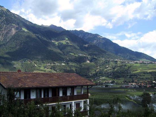 Hotel Residenz Pazeider: Unterpazeider terrace