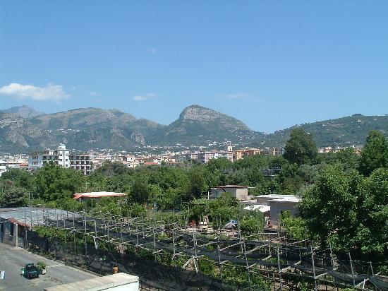 Hotel La Pergola: View from the roof terrace!