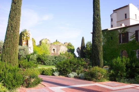 Chateau Saint-Martin & Spa: Hotel driveway