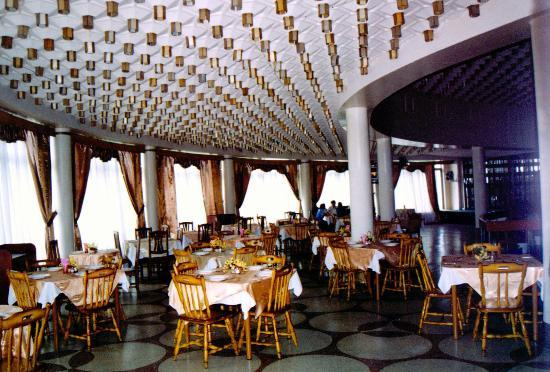 Tourist Hotel: The hotel dining room