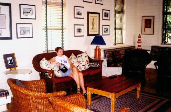 Disney's Hilton Head Island Resort: Lounging in the Beach House sitting room