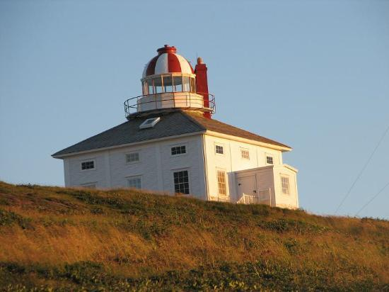 St. Johns, Canada: Old Cape Spear Lighthouse (Most Easterly point in No. America)