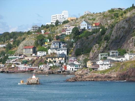 St. John's, Canada: Across the Narrows from Cape Amherst