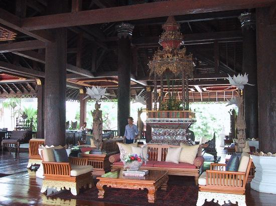 The Dhara Dhevi Chiang Mai: Reception Area
