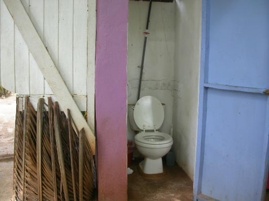 Casa Iguana: The toilet, no water.