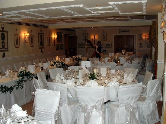 Rookery Hall Hotel Spa Print Room Wedding Breakfast 2