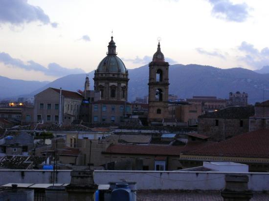 Ambasciatori Hotel: view from rooftop terrace