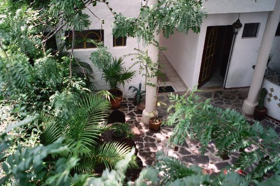 The Courtyard of Hotel Casa Blanca