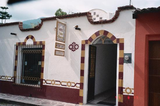 The Street Entrance of Hotel Casa Blanca
