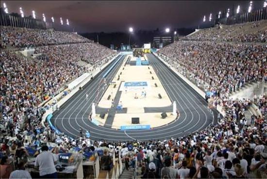 Panathenaic Stadium: panathinaiko stadium at the olympics of 2004