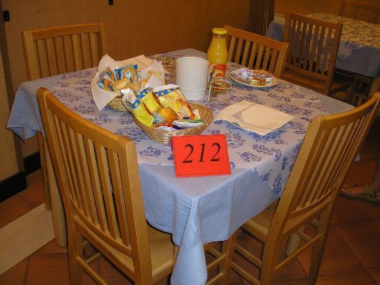 Casa Sant'Andrea: breakfast