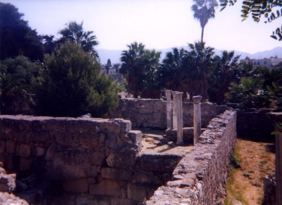 Continental Palace: Kos Town Castle Ruins (sorry I cant remember the name!)