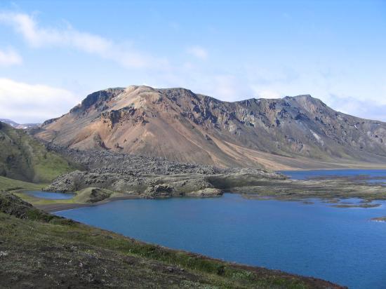 Islandia: Landmannalaugar, lake