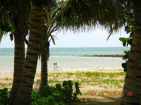 Kamalame Cay: View of ocean from the Great House
