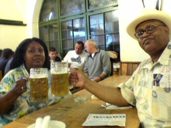 Hotel Bayerischer Hof: A little beer?