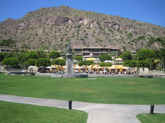 The Phoenician, Scottsdale : View from the spa