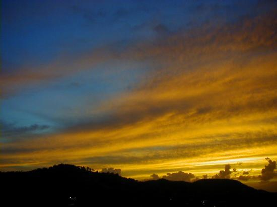 Isla de Vieques, Puerto Rico: One of the lovely sunsets on Vieques