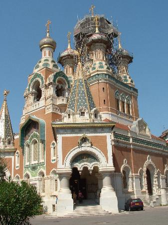 Nicea, Francja: Russian church in Nice