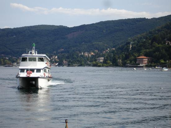 Lake Maggiore Hotel Romagna in distance