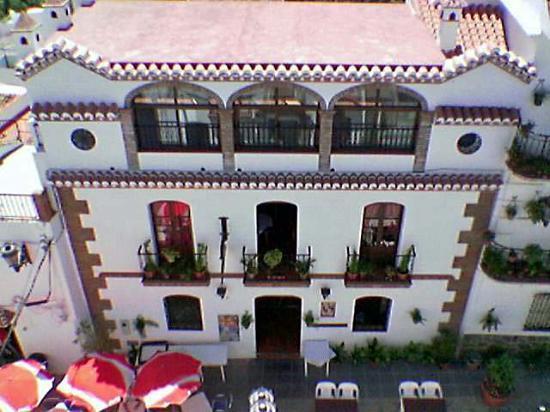 Posada la Plaza: Restaurant La Plaza from the hotel roof