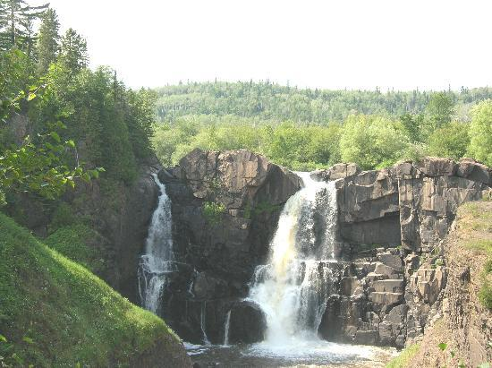Thomsonite Beach Inn & Suites: High falls in Grand Portage State Park near Grand Marais