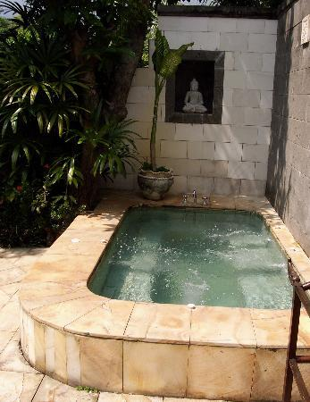 The Damai: Private jacuzzi area