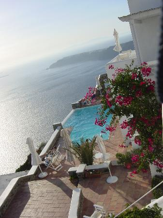 Astra Suites: A view of the pool