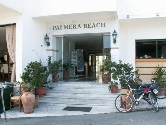 Entrance of palmera beach hotel