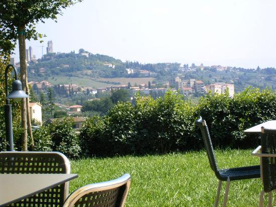 Villa Ducci: On the Terrace