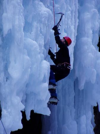 Ouray Ice Park: Very good climber