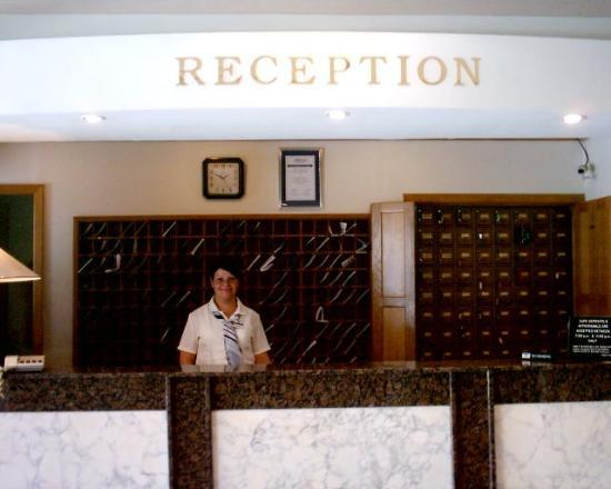 San Pawl Hotel: reception