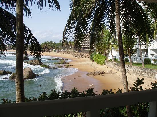 Mount Lavinia Hotel: View from Room 106