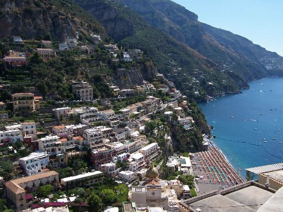 Sorrento, Italien: Positano beach