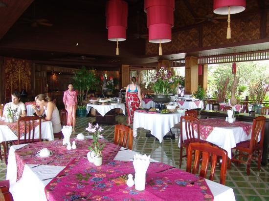 Rocky's Boutique Resort: rocky resort dining room