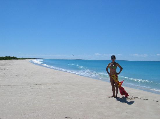 Barbuda: Best Swimming Beach.