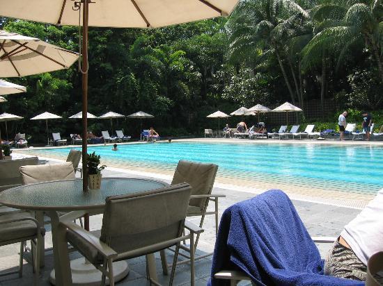The Ritz-Carlton, Millenia Singapore: Swimming pool grounds
