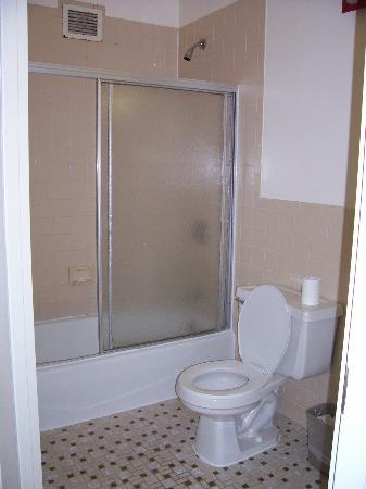 Americana Inn: one of the bathrooms