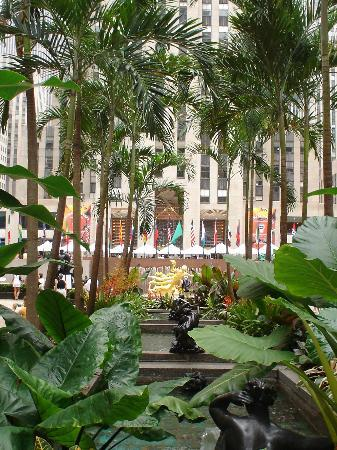 Stylish touch - Rockefeller Square