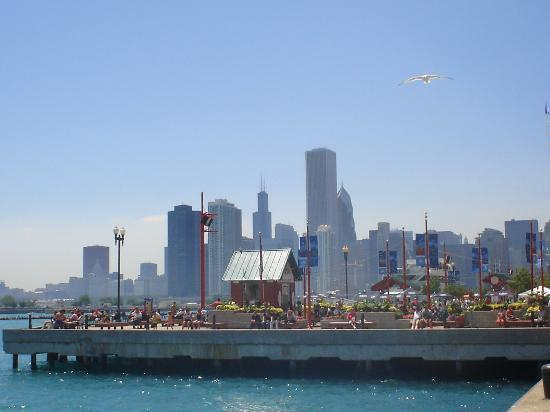 Navy pier downtown together picture of swissotel for Nice hotels downtown chicago