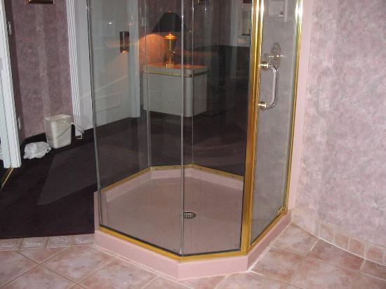 Cove Haven Resort: The bottom part of the shower