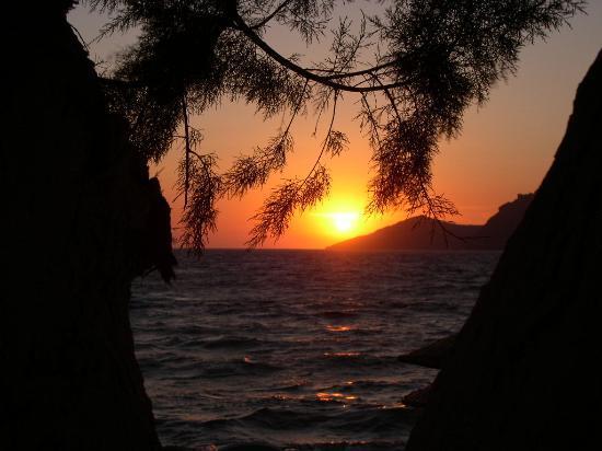 Yalikavak, Türkei: Sunset