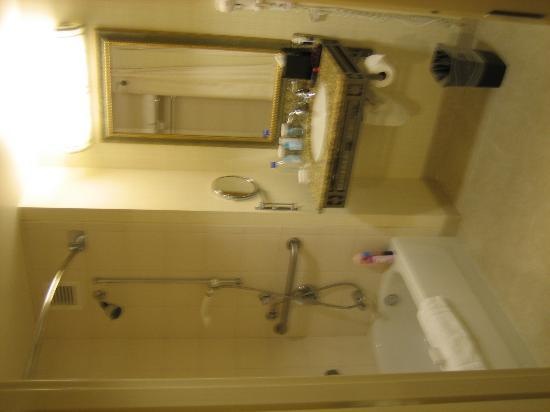 Hilton Santa Clara: shower for disable