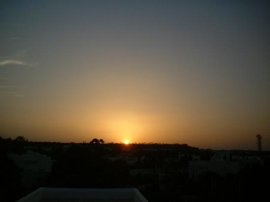Hotel Kanta: Sunset