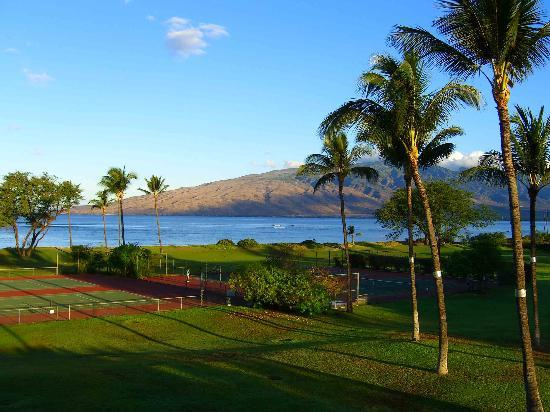 Maui Schooner Resort: View from balcony